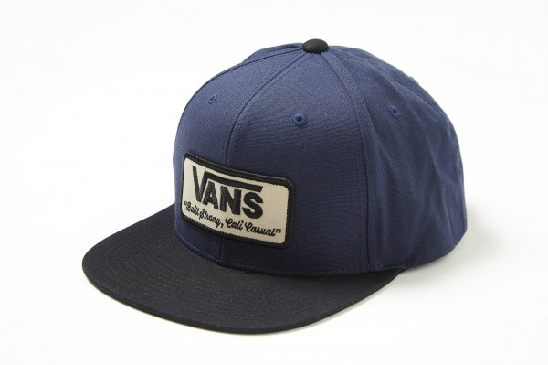 ROWLEY SNAPBACK DRESS BLUES-BLACK