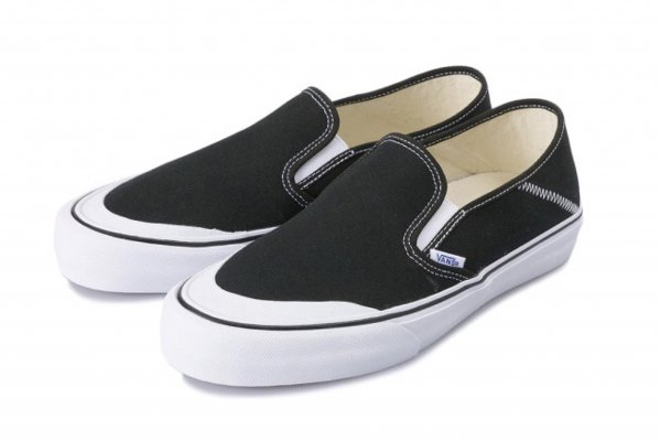 Slip-On SF black/white