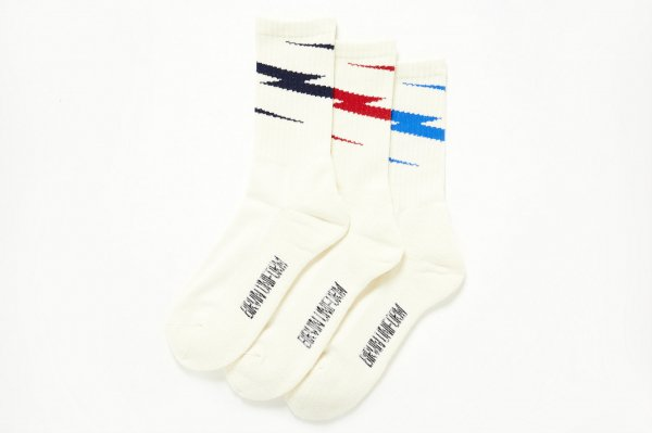 Thunder Line Socks<img class='new_mark_img2' src='//img.shop-pro.jp/img/new/icons38.gif' style='border:none;display:inline;margin:0px;padding:0px;width:auto;' />