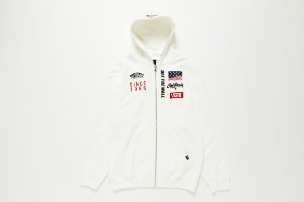 VANS Racing Zip Up Hoodie(Safari5月号掲載商品)