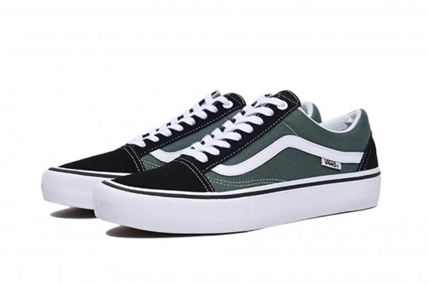 Old Skool Pro black/duck green