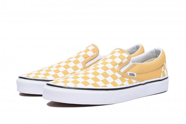 Classic Slip-On (Checkerboard) ochre<img class='new_mark_img2' src='//img.shop-pro.jp/img/new/icons32.gif' style='border:none;display:inline;margin:0px;padding:0px;width:auto;' />