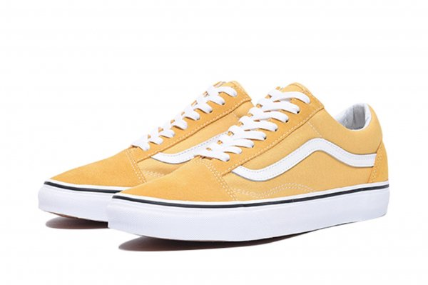 Old Skool ochre/true white