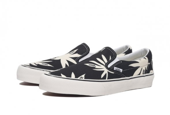 Classic Slip-On SF (Summer Leaf) bla
