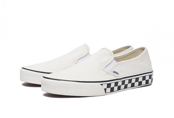 Slip-On SF classic white/checker