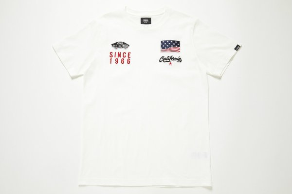 VANS Racing Slim-Fit S/S T-Shirt(Safari8月号掲載商品)