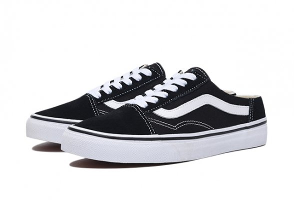 Old Skool Mule black/true white