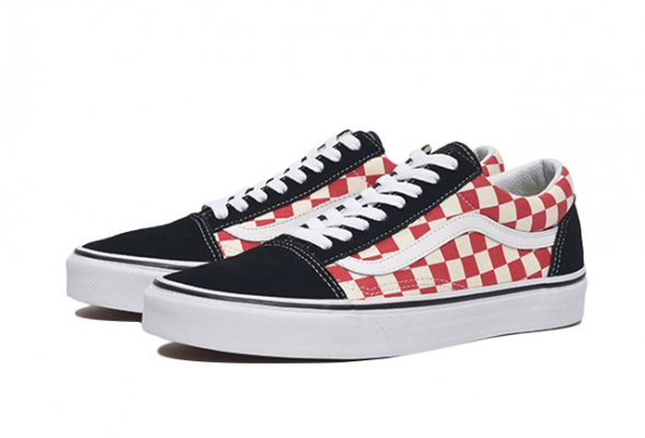 Old Skool (Checkerboard) black/red