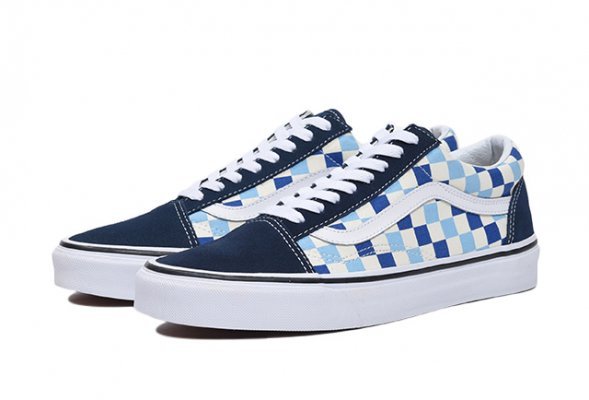 Old Skool (Checkerboard) blue topaz