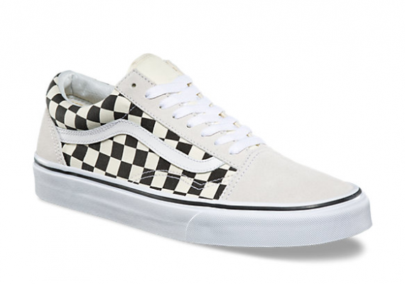 Old Skool (Checkerboard) white/blac