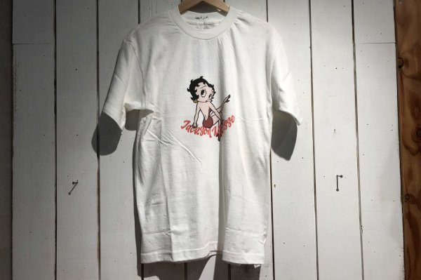 BettyBoop JM Logo Tee