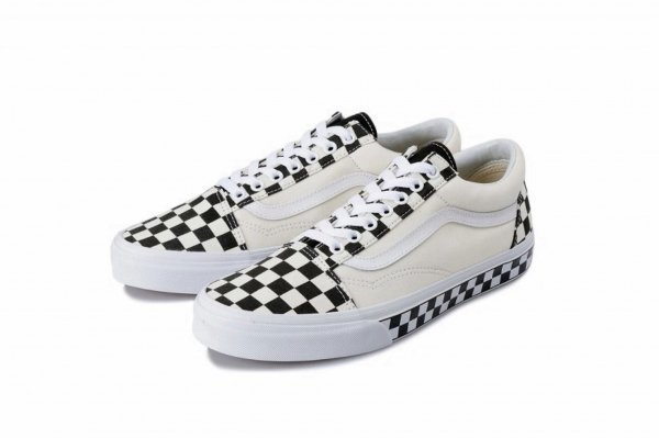 Old Skool (Checker Sidewall) black/t