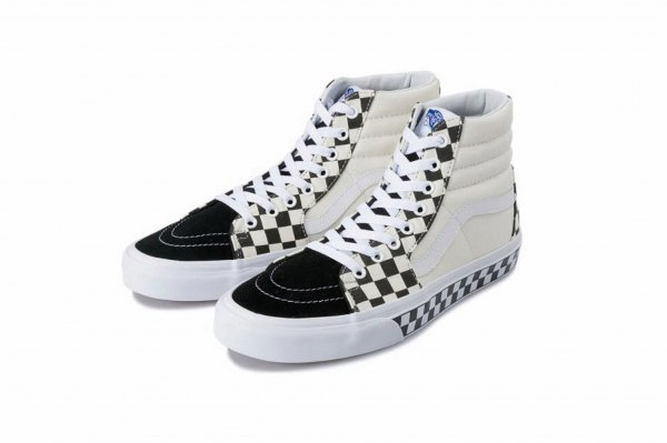 SK8-Hi (Checker Sidewall) black/true