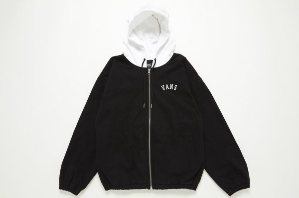 OFF THE WALL&FlagPt. Girls Hooded Ja