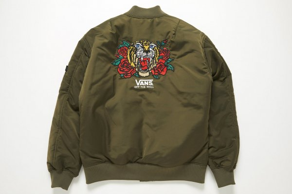 Tiger and Rose Emb. Bomber Jacket(Safari12月号掲載商品)