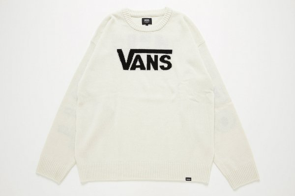<img class='new_mark_img1' src='//img.shop-pro.jp/img/new/icons41.gif' style='border:none;display:inline;margin:0px;padding:0px;width:auto;' />VANS Big OTW JQD Crew Knit(Safari2月号掲載商品)
