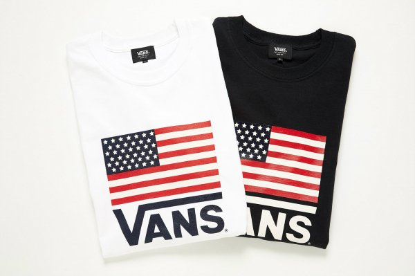 American Flag L/S T-Shirt(Safari11月号掲載商品)