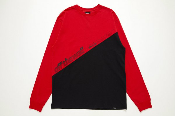 Bias Switched L/S T-Shirt(Safari10月号掲載商品)