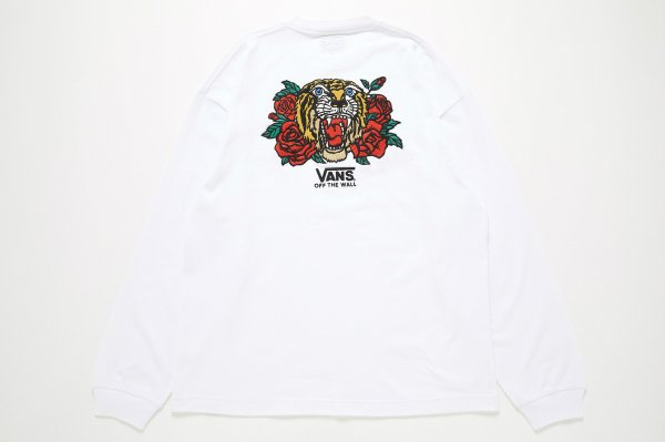 Tiger and Rose Emb. L/S T-Shirt