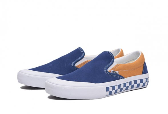 SLIP-ON PRO (CHECKERBOARD) TRUE NAVY