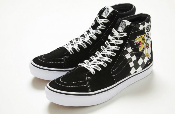 SK8-HI DX BLACK/WHITE  (EMBR PACK)