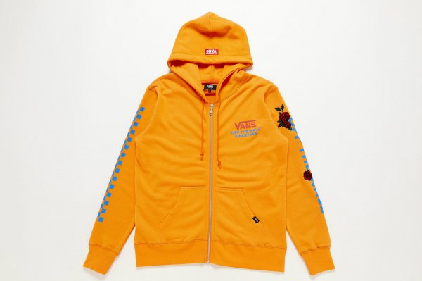 Checker & Rose Swea ZIP HOOD(Safari1月号掲載商品)
