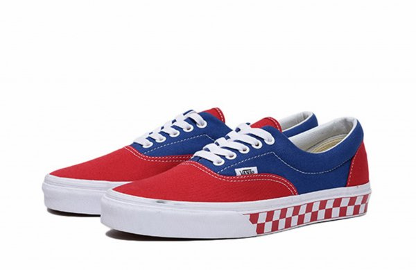 ERA (BMX CHECKERBOARD) TRUE BLUE/RED