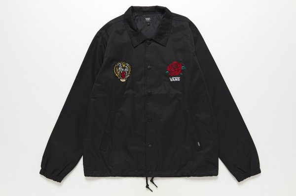 <img class='new_mark_img1' src='//img.shop-pro.jp/img/new/icons41.gif' style='border:none;display:inline;margin:0px;padding:0px;width:auto;' />Tiger and Rose Emb. Coach Jacket(Safari11月号掲載商品)