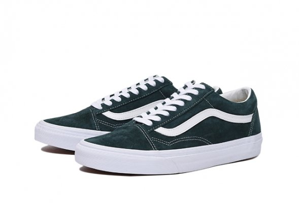 OLD SKOOL (PIG SUEDE) DARKEST SPRUCE