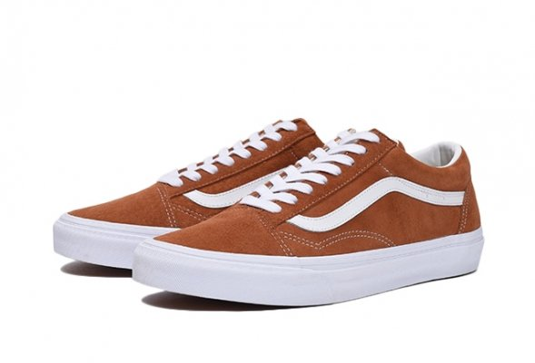 OLD SKOOL (PIG SUEDE) LEATHER BROWN/