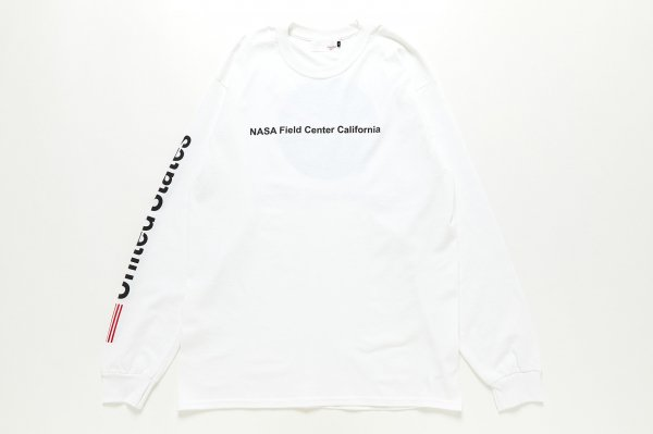 NASA California L/S Tee