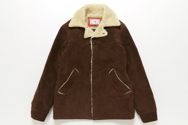 SUEDE RANCH COAT