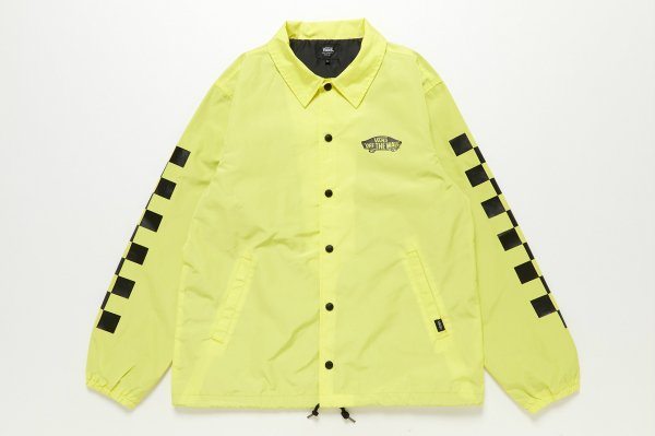 Neon Color Coach Jacket