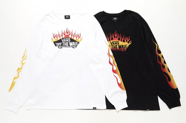 Burning OTW L/S T-Shirt(FLAME PACK)