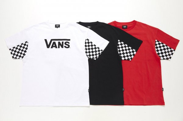 Checker Sleeve S/S T-Shirt
