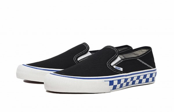 UA SLIP-ON SF (CHECKER) BLACK