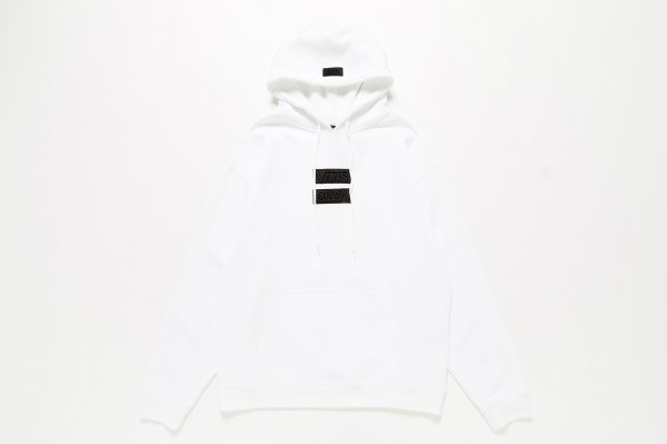 UP SIDE DOWN PATCH Pull Over Hoodie(Safari2月号掲載商品)