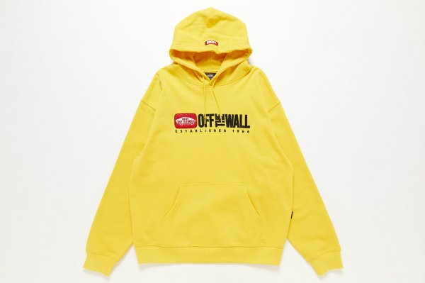 OFFTHE WALL Patch Pullover Hoodie(Safari2月号掲載商品)