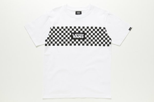 VANS CHECKER S/S-TEE 5902170001(safari7月号掲載商品)