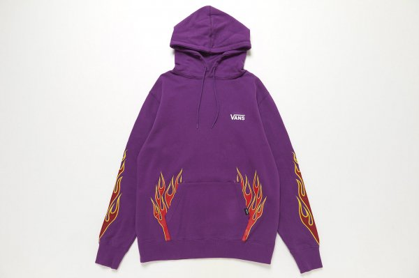 Flame Emb. Pull Over Hoodie 5902800003