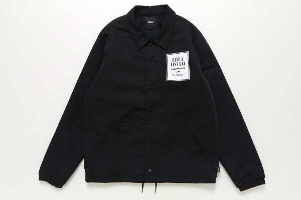 Have a Vans Day Coach Jacket 5899200002