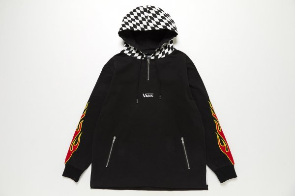 Checker Hooded Pull Over 5902780001