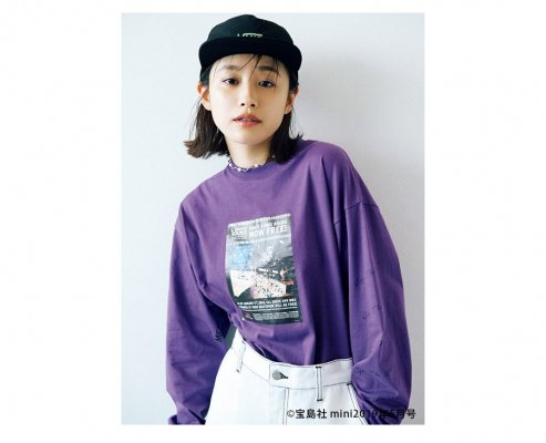 VANS/MINI Photo L/S T-Shirts 5933110001(mini5月号掲載)