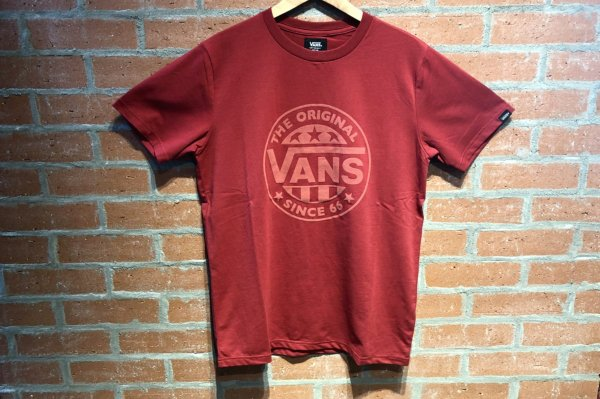 VANS Suede LOGO STRETCH TEE 5942460001(safari7月号掲載商品)