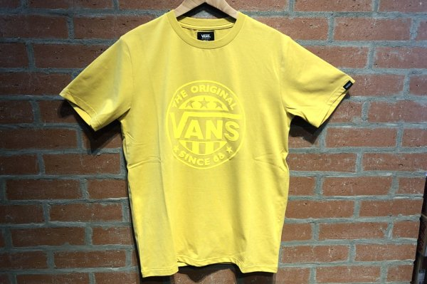 VANS Suede LOGO STRETCH TEE 5942460003(safari7月号掲載商品)