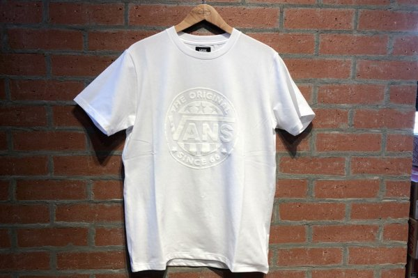 VANS Suede LOGO STRETCH TEE 5942460004(safari7月号掲載商品)