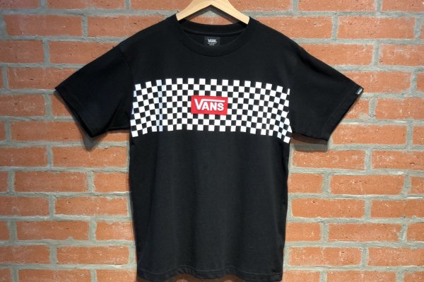 VANS CHECKER S/S-TEE 5902170003(safari8月号掲載商品)