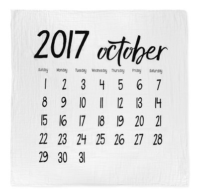 モダンバーラップ スワドル おくるみ 2017 october 10月 おむつケーキ
