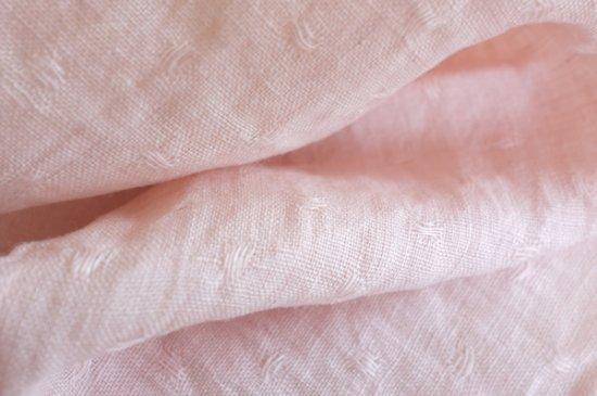 ハンカチ/麻/リーノ・エ・リーナ/リトアニアリネン/lino e lina 【ぺパン】ピンク【画像2】