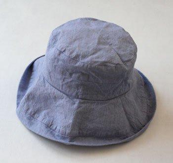 帽子 帽子/麻/リーノ・エ・リーナ/リトアニアリネン/lino e lina 【マノン】フラックスフラワー